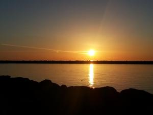 foto di tramonto tramonto Tramonto Bosa Marina (Oristano)