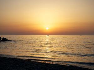 foto di tramonto, tramonto Tramonto a san Saba (Messina)