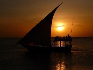 foto di tramonto, tramonto Tramonto Africano